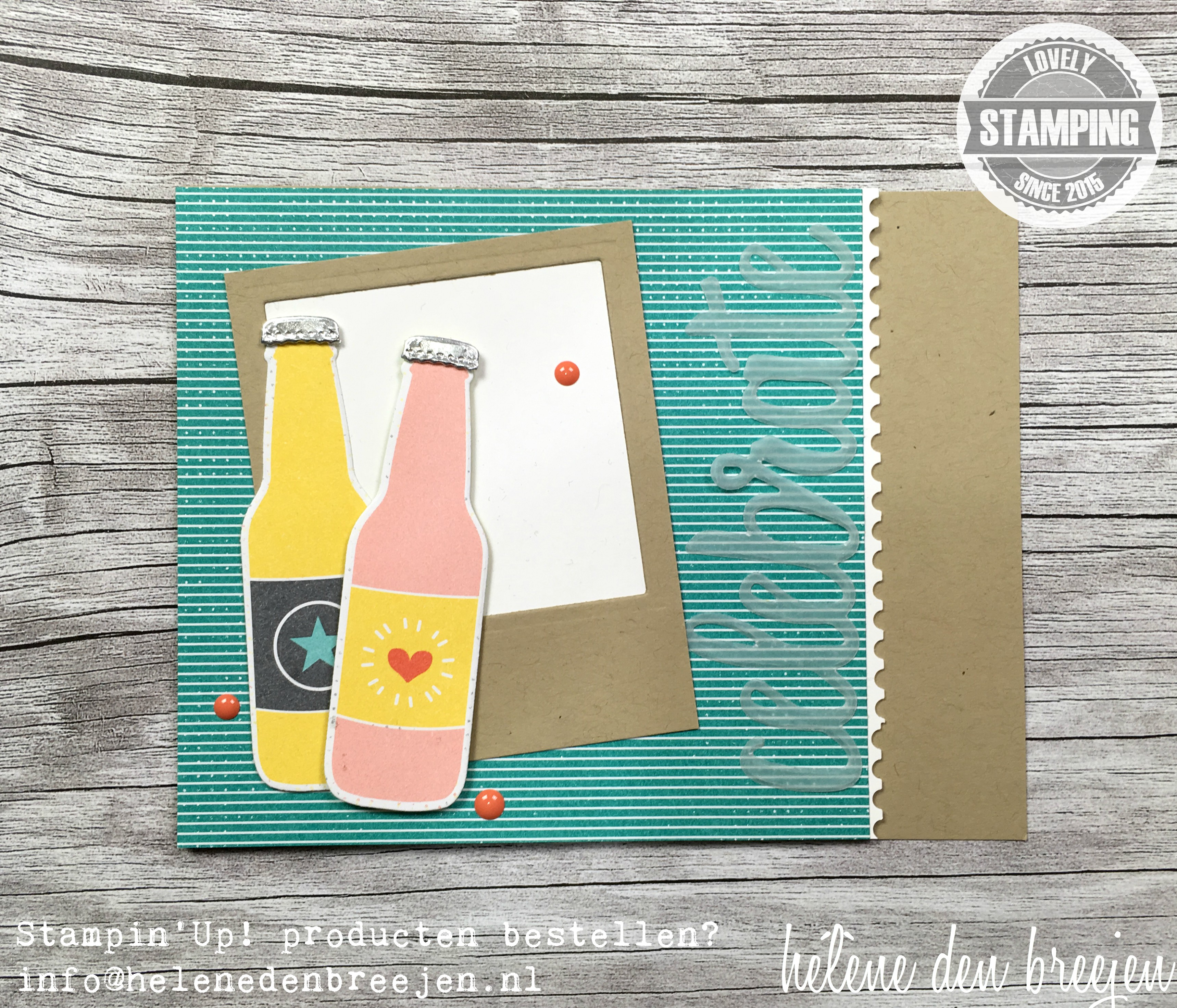 Stampin'Up! Bubbles & fizz