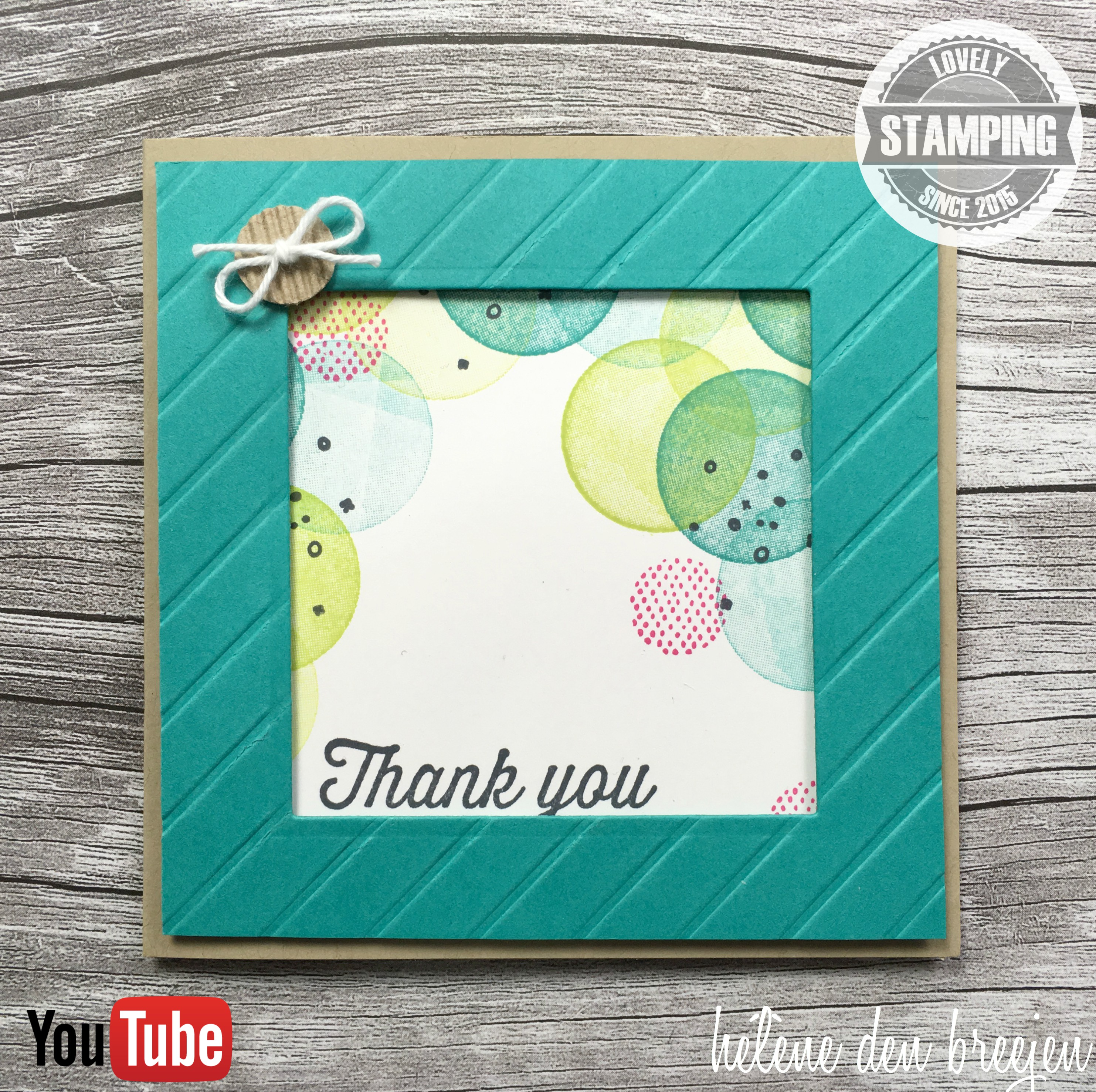 Stampin'Up! Eclectic expressions kopie