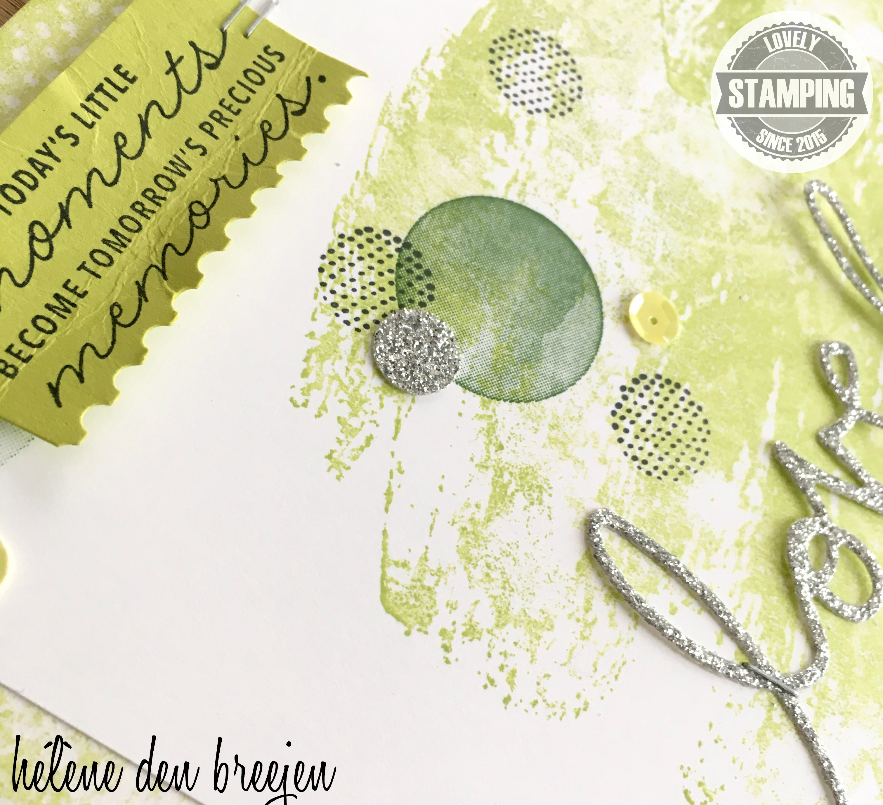 Stampin'Up! layout